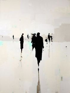 Geoffrey Johnson's paintings | Portachi #abstractart