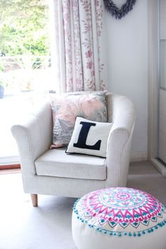 A Girly Bedroom Update