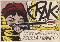 Crak! (Corlett II.2.) - Roy Lichtenstein prints http://www.printed-editions.com/art-print/roy-lichtenstein-crak-corlett-ii2-64964