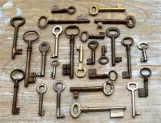 Wholesale Old Keys - Vintage Keys