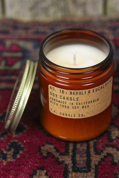 P.F. Candle Co. Neroli + Eucalyptus Soy Candle
