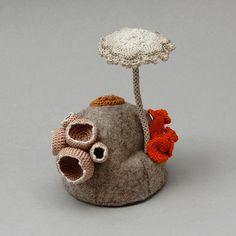 crochet and felt