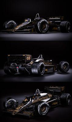 Lotus 98T - Ayrton Senna