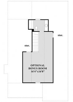Home Renovation Planning Restful Cottage Plan with Optional Second-Level Bonus Room - Cottage House Plans, Cottage Homes, Cottage Style, Farm House, Narrow Lot House Plans, House Floor Plans, Home Renovation, Home Remodeling, Room Planning