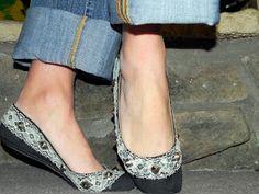 Smart n Snazzy: DIY ~ Refashioned Pretty & Punk Shoes
