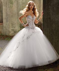 El vestido de novia mas lindo