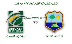 South Africa vs West Indies 1st T20 Match HighLights: South Africa vs West Indies 1st T20 Match HighLights is available in this site. South Africa won the toss and elected to bat first. South Afric...