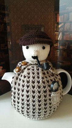 https://flic.kr/p/yQAtmd | Sherlock tea cosy ♡