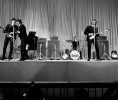 Concert des Beatles au Palais des Sports, à Paris, en janvier 1965. Crédits photo : Rue des Archives/AGIP