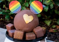 How Cool are The Ganachery Rainbow Treats at Disney Springs?!
