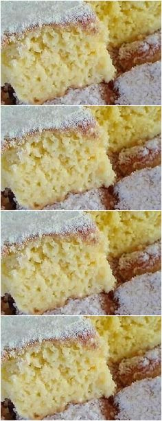 Dessert Recipes, Desserts, Vanilla Cake, Food Art, Coco, Cheesecake, Food And Drink, Cooking, Creme