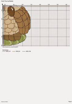 schema punto croce gufo thun   Hobby lavori femminili - ricamo - uncinetto - maglia
