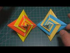 팽이모양 나선형 모듈 종이접기 Modular Origami Spiral (Tomoko Fuse)[진진종이접기] origami,折纸,折り紙,оригами,اوريغامي - YouTube