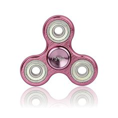 Starss Aluminum Fidget Spinner with Fast Detachable R188 Bearing Fingertip Decompression Toy Best Gag Gift Paint-Blue