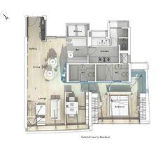 Boathouse Home Office / Bean Buro