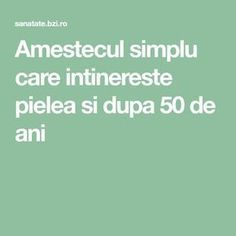 Amestecul simplu care intinereste pielea si dupa 50 de ani Makeup Revolution, Good To Know, At Home Workouts, Health And Beauty, Anti Aging, Health Care, Beauty Hacks, Health Fitness, Hair Beauty