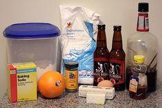 Belgian White Beer Cookies With Orange Icing Recipe — Dishmaps