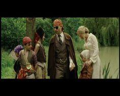 Finding Neverland - Sir James Matthew Barrie (Johnny Depp) e Sylvia Llewelyn Davies (Kate Winslet)