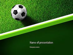 http://www.pptstar.com/powerpoint/template/soccer-ball-near-line/ Soccer Ball Near Line Presentation Template