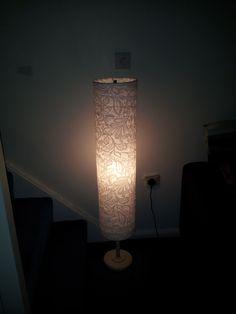 25 IKEA Lighting Hacks | Fabric covered, Floor lamp and Ikea hackers