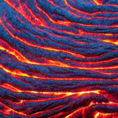 Thorsten Scheuermann captures the flowing, red-hot lava of the Kilauea Volcano near Kalapana in Hawaii more knitting inspiration Abstract Nature, Abstract Photos, Abstract Photography, Nature Photography, Amazing Photography, Mother Earth, Mother Nature, Volcan Eruption, Painted Hills