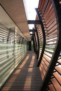 Triptyque deconstructed this São Paulo building's facade by incorporating membrane-like brise-soleil—not only does this lend the structure unique visual dynamism, it offers solar protection and filters the public view. Facade Architecture, Amazing Architecture, Contemporary Architecture, Landscape Architecture, Architecture Interiors, Interior Design Magazine, Screen Design, Facade Design, House Design