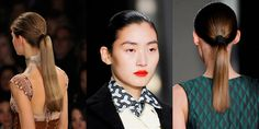 10 New Ways to Wear Ponytails, Straight From the Fall Runways