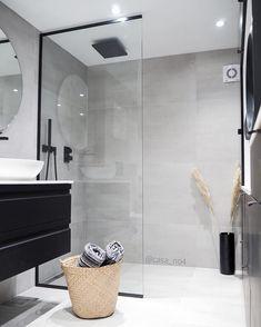 Swipe left for FAB details 🙌 Bathroom by Bathroom Inspo, Laundry In Bathroom, Bathroom Layout, Bathroom Interior Design, Small Bathroom, Country Blue Bathrooms, Modern Kitchen Design, Amazing Bathrooms, Furniture Design