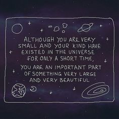 quote, universe, and stars image