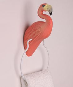Look what I found on #zulily! Flamingo Towel Ring by Bobbo #zulilyfinds