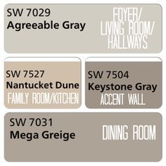 Best Gray Paint Color the best gray paint colors. www.mommyerica sherwin williams