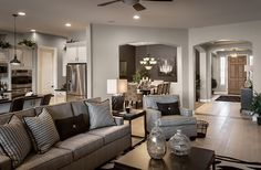 Grey & Sand tones inspired decor. I'm a color girl but I do love these neutrals!