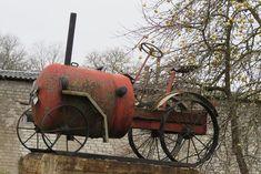 ja vahepeal mujal Eestis Cannon, Tractors, Industrial, Statue, Outdoor Decor, Landscapes, Home Decor, Paisajes, Scenery
