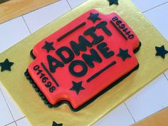 Film ticket #novelty #cake by kgyurisin, via Flickr