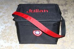 Personalized Lunchbox Designed by You by EmbroideryMark on Etsy  www.embroiderymark.etsy.com