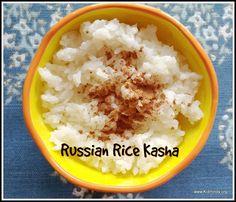 Kid Minds: Russian Rice Kasha - Рисовая Каша