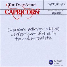 The Daily Astro!                            // Capricorn 15913: Check out The Daily Astro for...