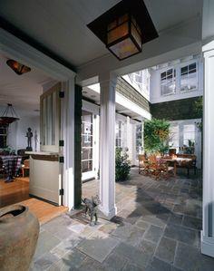 Newport Beach Custom Home 01 - traditional - patio - orange county - Sennikoff Architects. Outside-in breakfast atrium