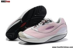 Cheap Women MBT Fora Shoes Pink White Shoes Store
