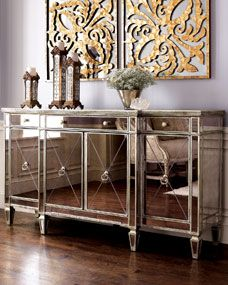 Amelie Mirrored Buffet/Console