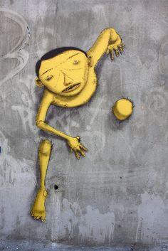 Os Gemeos #streetart