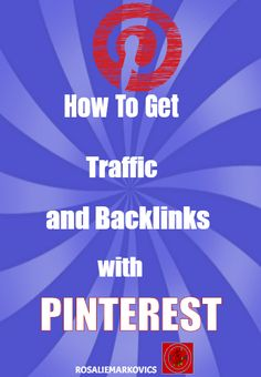 An easy step by step video tutorial to building followers on Pinterest, website traffic and backlinks https://youtu.be/2A_Mh9f_xqA