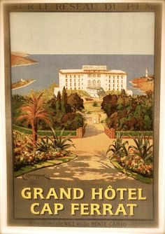 Hotel du Cap … . . still the grand lady of the Riviera .