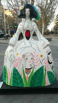 Diego Velazquez, Public Art, Public Spaces, Maria Hesse, Wooden Dolls, Madrid, Installation Art, Contemporary Artists, Craft Supplies