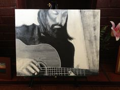 """Darling"" Seth Avett #painting #avettbros"