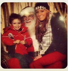 Maci Bookout Takes Bentley to Meet Santa!