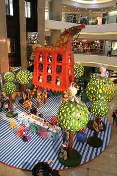 top mall decoration christmas - Buscar con Google