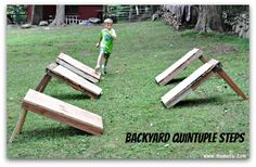 For his birthday, my son wanted his own backyard American Ninja Warrior Birthday Party competition! So we set about constructing a…