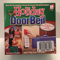 Temp replacement for your doorbell. Christmas mode plays 6 songs. New Years Mode plays 3 songs Christmas is Coming. 3 playing modes We Wish You a Merry Christmas. Silent Night. Works up to 100 feet from the door. | eBay!