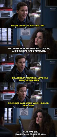 "21 Times Jake And Amy's Love On ""Brooklyn Nine-Nine"" Made Us Melt"